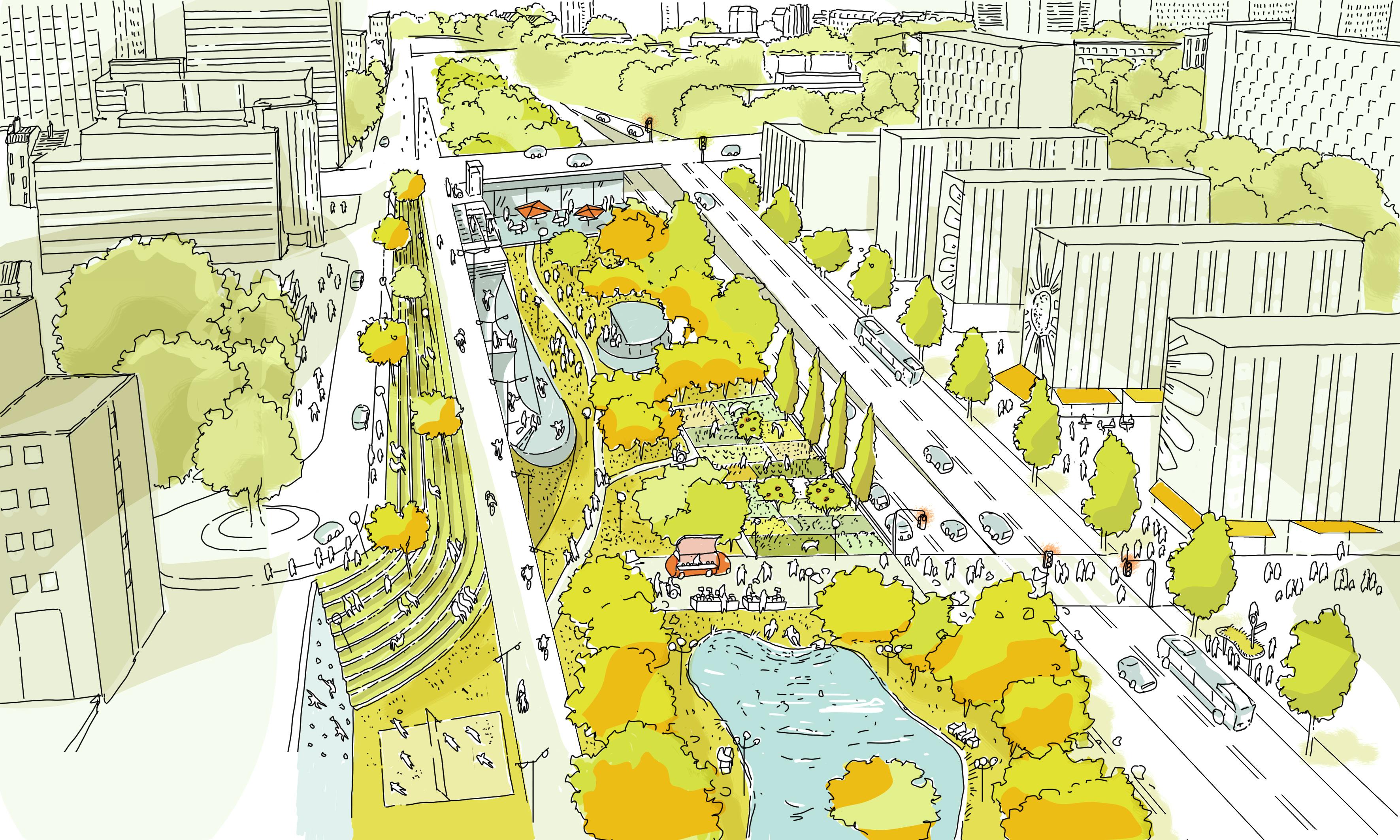 2030 r investissons le p riph rique groupe colo de paris - Les portes du peripherique paris ...