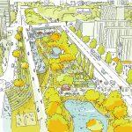 Périphérique en boulevard urbain végétalisé
